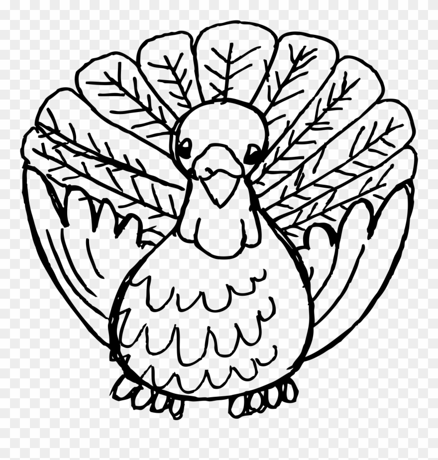 Turkey drawings clipart graphic library Black And White Turkey Drawing at PaintingValley.com ... graphic library