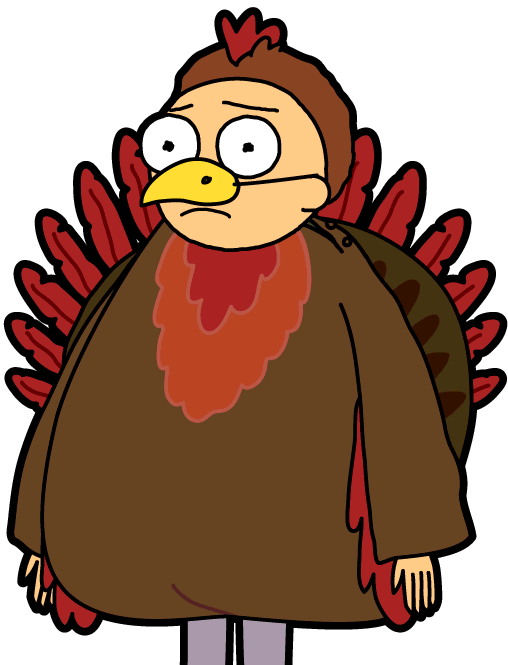 Turkey face and butt clipart svg freeuse stock 272 - Turkey Morty - PocketMortys.net svg freeuse stock