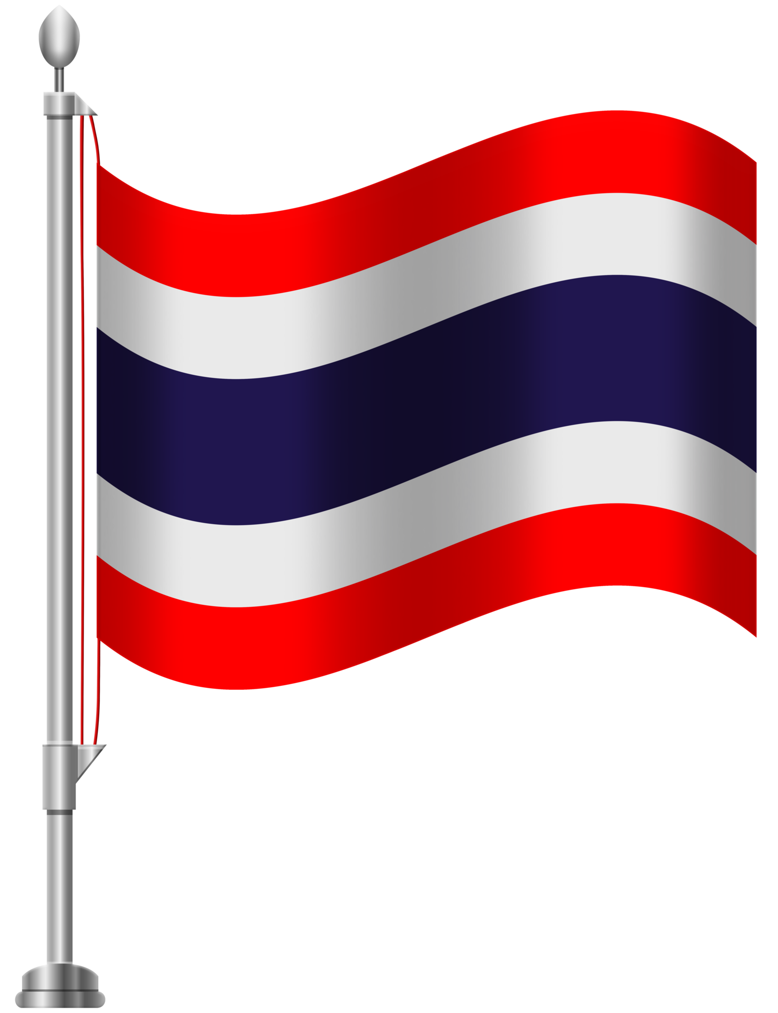 Turkey flag clipart png free stock Thailand Flag PNG Clip Art png free stock