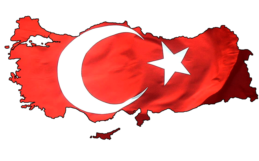 Turkey flag clipart image free Download Turkey Flag Icon #45688 - Free Icons and PNG Backgrounds image free