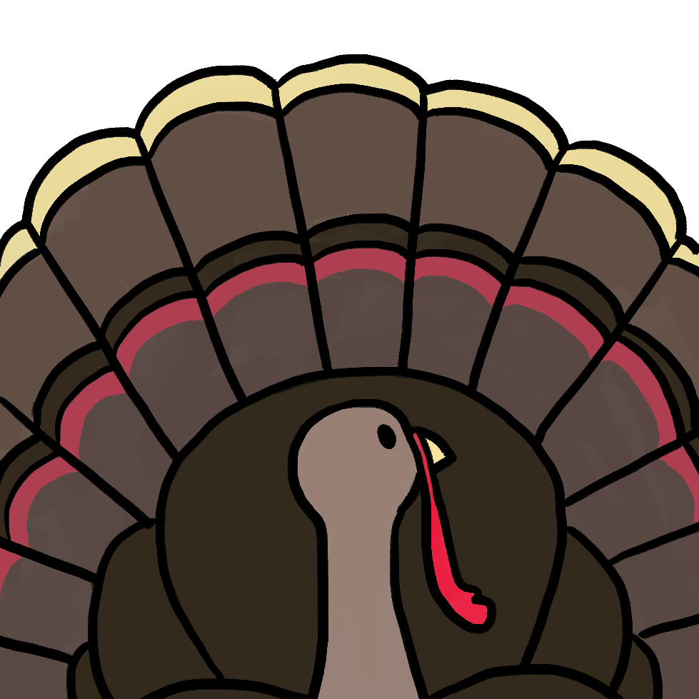 Turkey flap wings clipart clipart freeuse Talking Turkey clipart freeuse