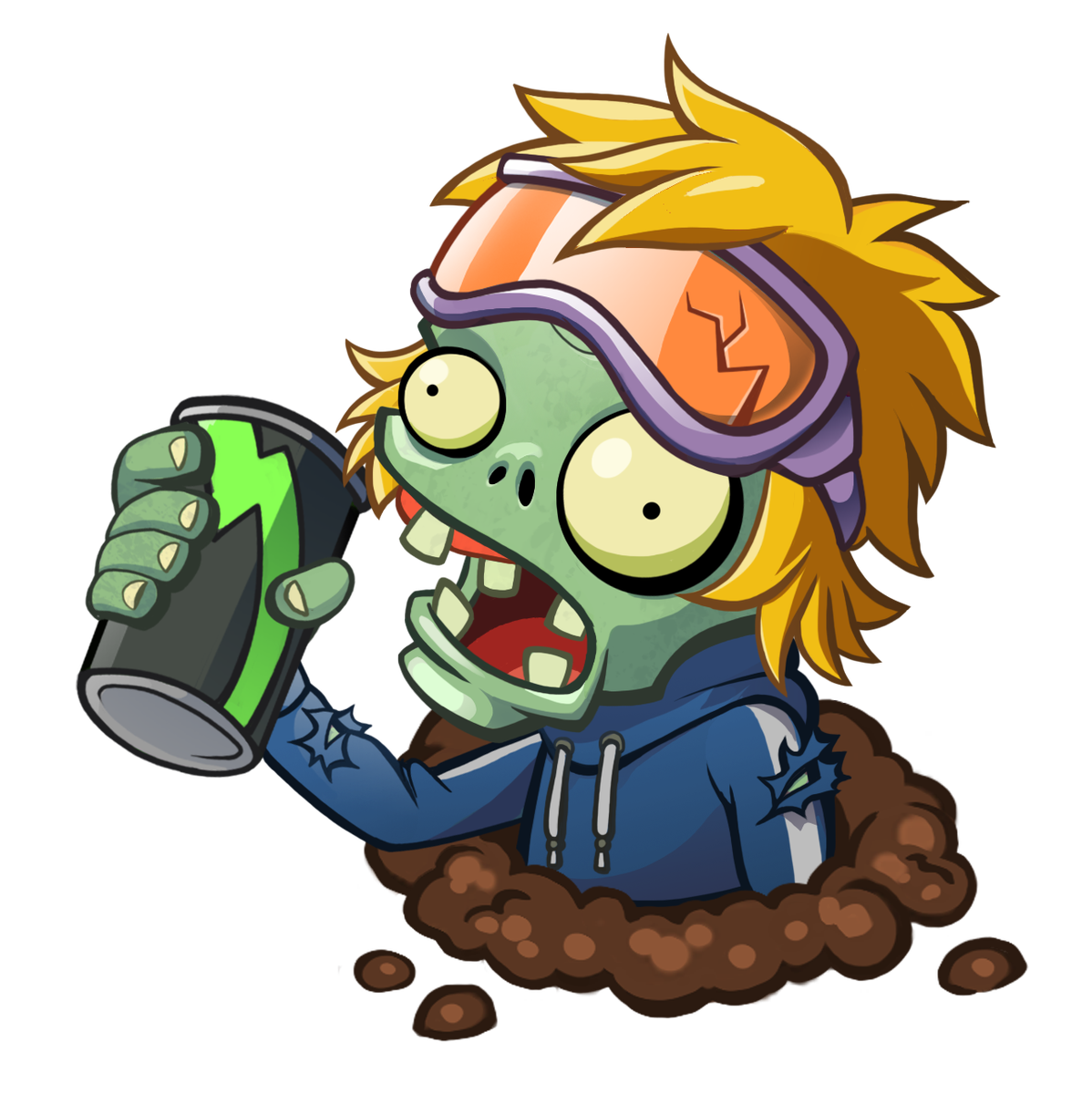 Turkey gizzards clipart banner royalty free Energy Drink Zombie | Plants vs. Zombies Wiki | FANDOM powered by Wikia banner royalty free