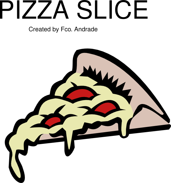 Turkey holding a pizza clipart png library stock Pizza Slice Clipart at GetDrawings.com | Free for personal use Pizza ... png library stock