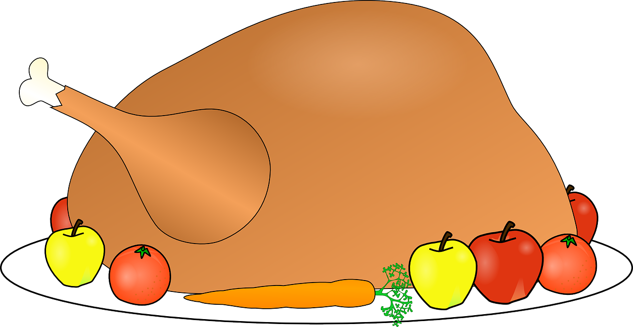 Turkey indean clipart clip free Turkey Food Dinner Feast PNG Image - Picpng clip free