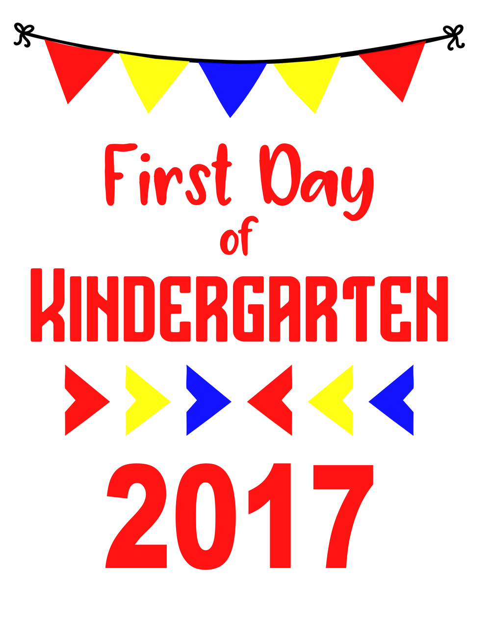 Turkey initials clipart vinyl shirt clipart transparent download Commercial Use Svg Cut File-First Day of Kindergarten Sign - DXF-PDF ... clipart transparent download