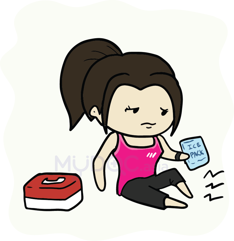 Turkey lifting weights clipart free How Much of Exercise is Too Much | MyDoc Asia free