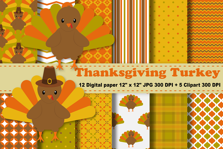 Turkey pattern clipart png freeuse stock Thanksgiving Digital Paper, Thanksgiving Turkey Background, Fall Pattern,  Autumn Printables, Scrapbook Papers, Digital Scrapbooking, Turkey Clipart. png freeuse stock