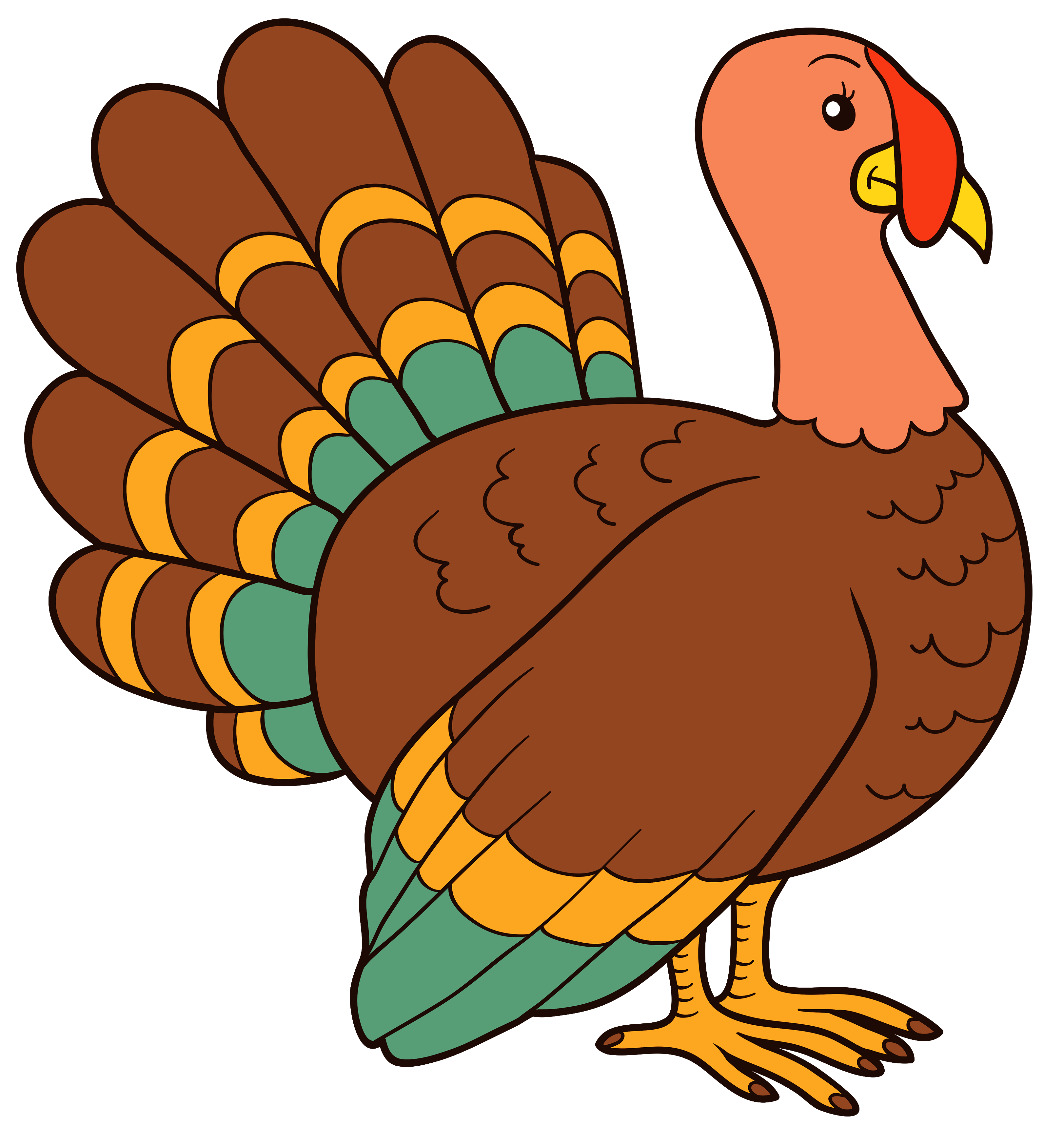 Turkey pictures clipart vector royalty free download Turkey Clipart Image Best Web Inside Transparent Png - AZPng vector royalty free download