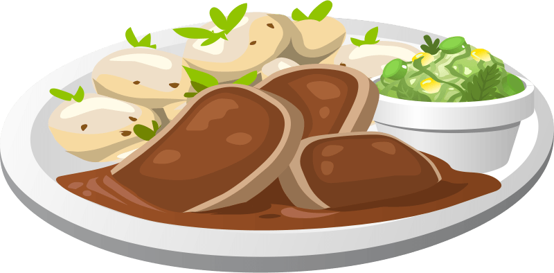 Turkey plate clipart transparent png royalty free library Chicken Plate Cliparts - Cliparts Zone png royalty free library