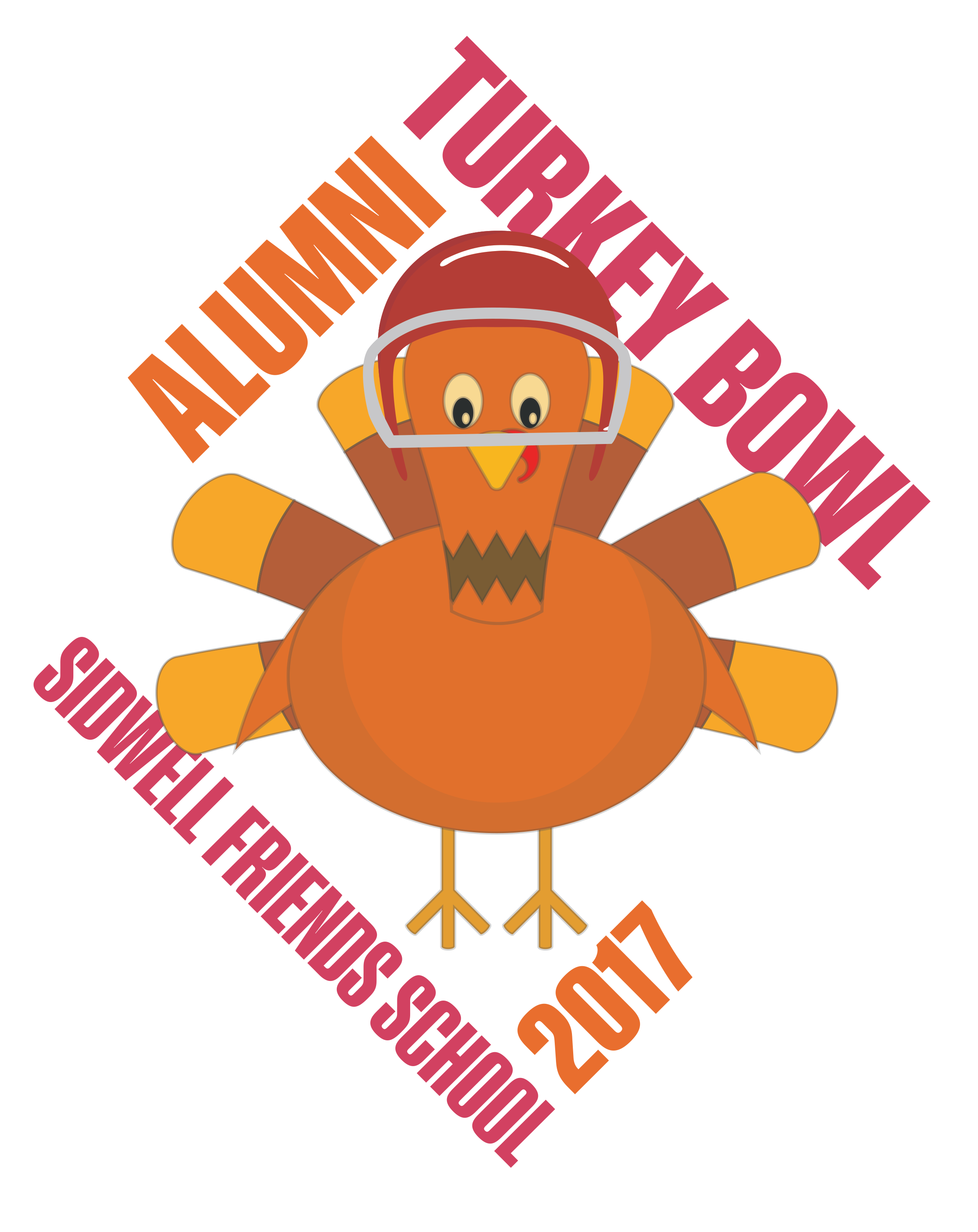 Turkey track clipart png png library download Turkey Bowl 2017 - Sidwell Friends png library download