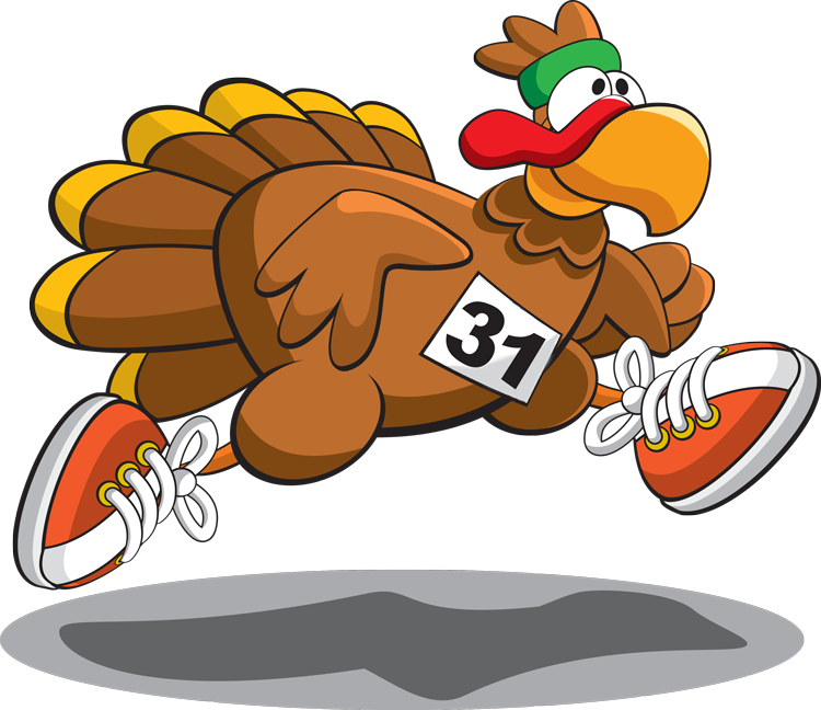 Turkey trop clipart black and white download Turkey Trot 2015 black and white download