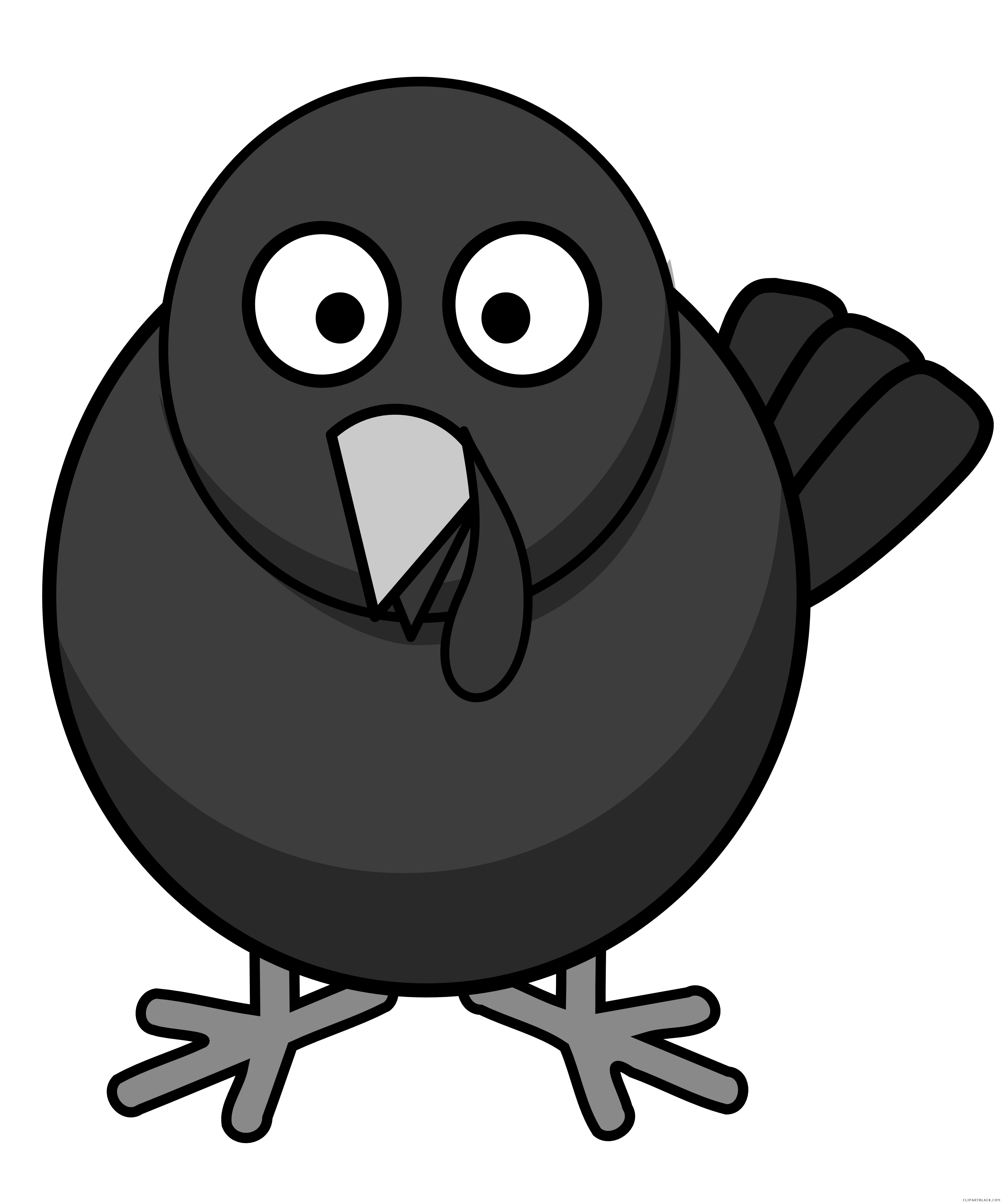 Turkey trot clipart free black and white clip art royalty free Turkey - ClipartBlack.com clip art royalty free