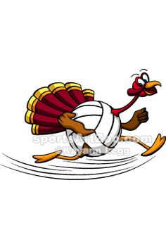 Turkey volleyball clipart clip download 114 Best Thanksgiving Designs & Items images in 2018 ... clip download