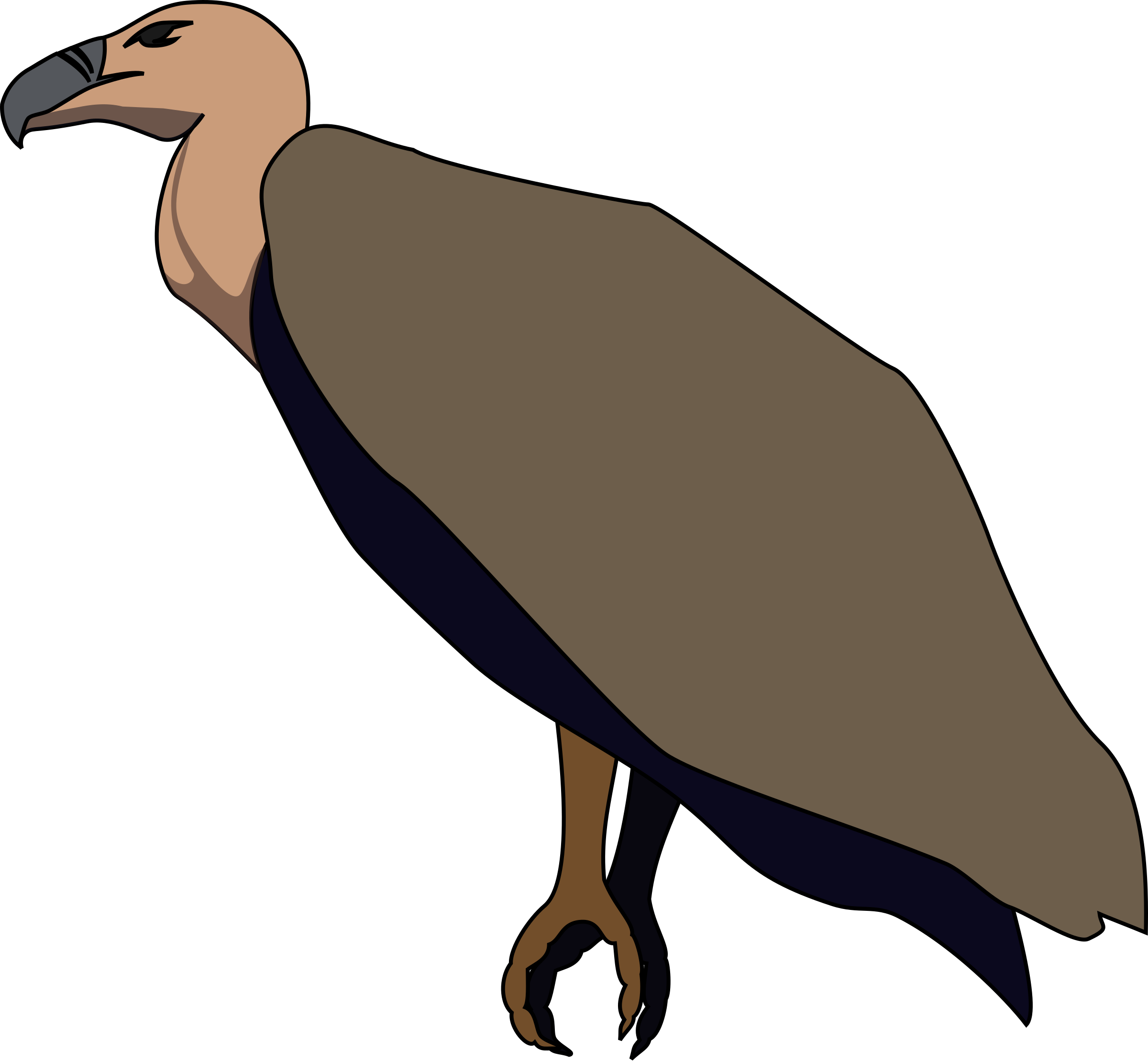 Turkey vulture clipart vector free stock 28+ Collection of Vulture Clipart Png   High quality, free cliparts ... vector free stock
