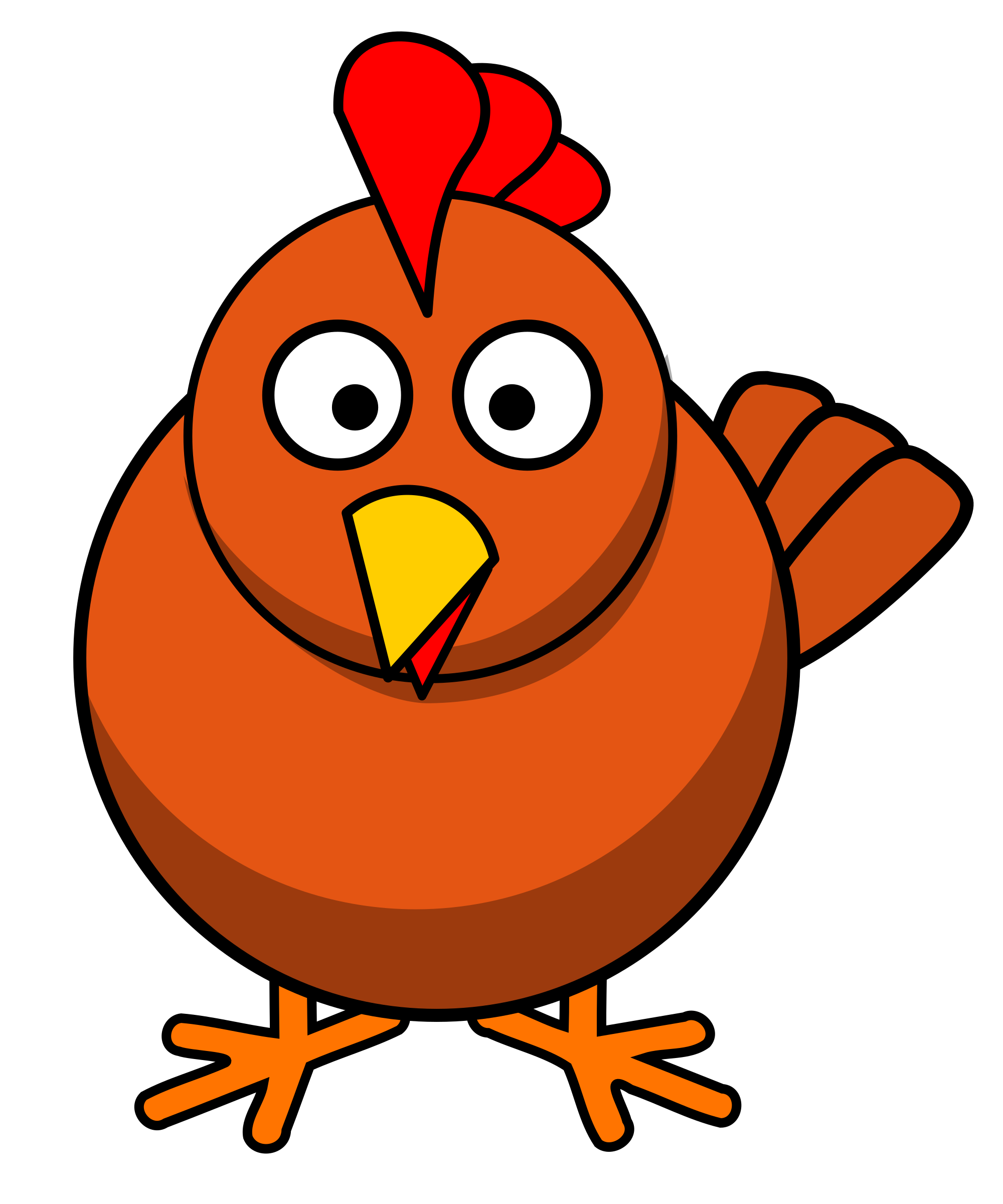 Turkey wings clipart clipart library download Beak Clipart Cartoon clipart library download