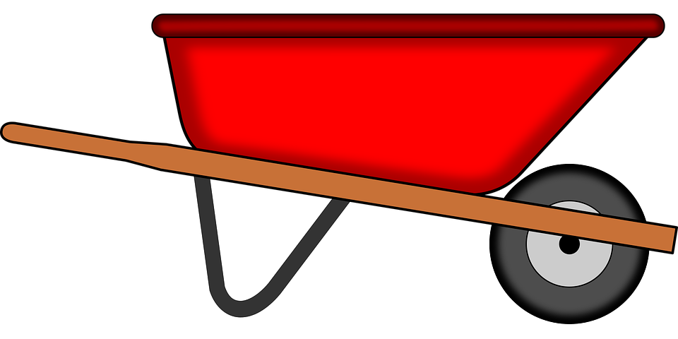 Turkey with a wheel barrow clipart clipart black and white stock Blood Red Wheelbarrow – Countercurrents clipart black and white stock