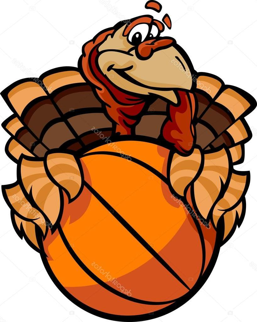 Turkey with basketball clipart graphic download Turkey Basketball Clipart graphic download