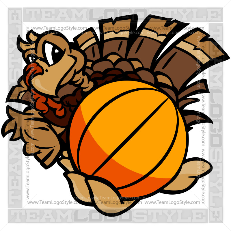 Turkey with basketball clipart vector transparent stock Turkey Basketball Clipart vector transparent stock