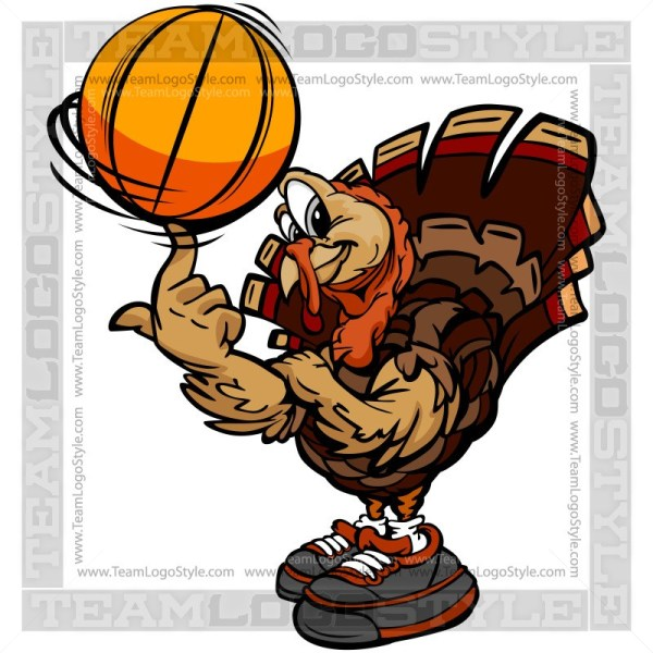 Turkey with basketball clipart clip art transparent download Turkey Spinning Basketball Clipart - Vector Clipart ... clip art transparent download