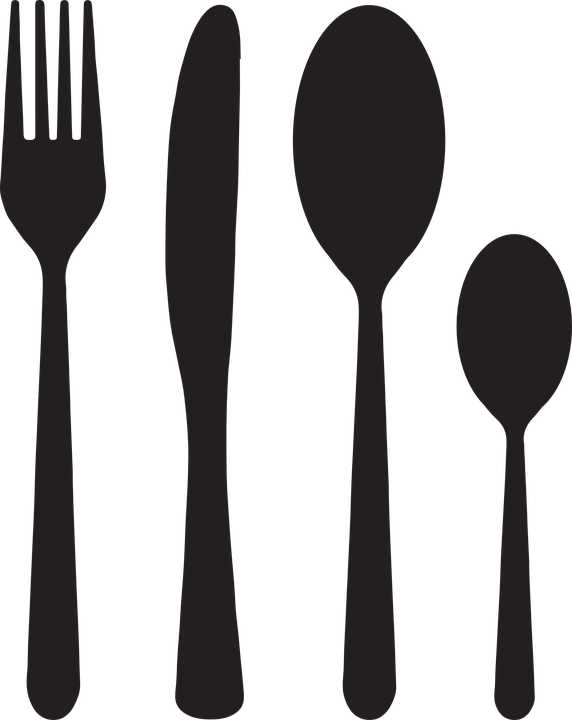 Turkey with knife and fork clipart svg royalty free download Fork Vector Group (68+) svg royalty free download