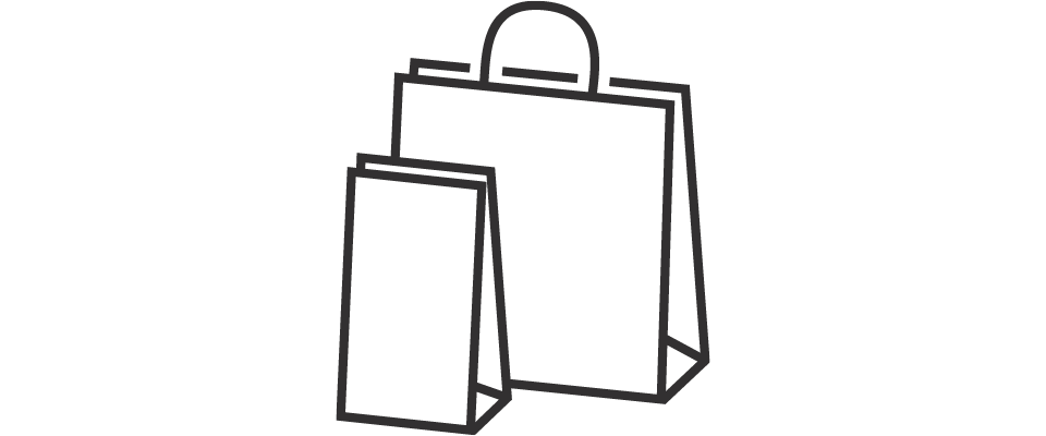 Turkey with shopping bags clipart png stock Why Choose PaperPak for retail packaging | PaperPak png stock