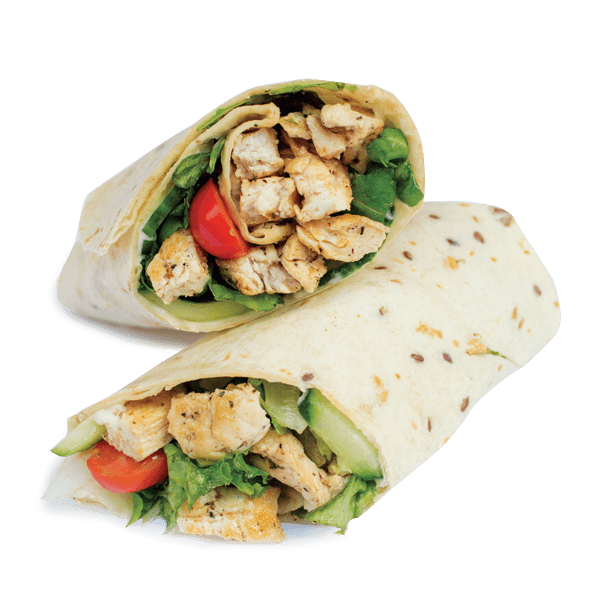 Turkey wrap clipart png transparent stock Sweet Chilli Chicken Wrap | Order Online | Wahu | Express Food Bar png transparent stock