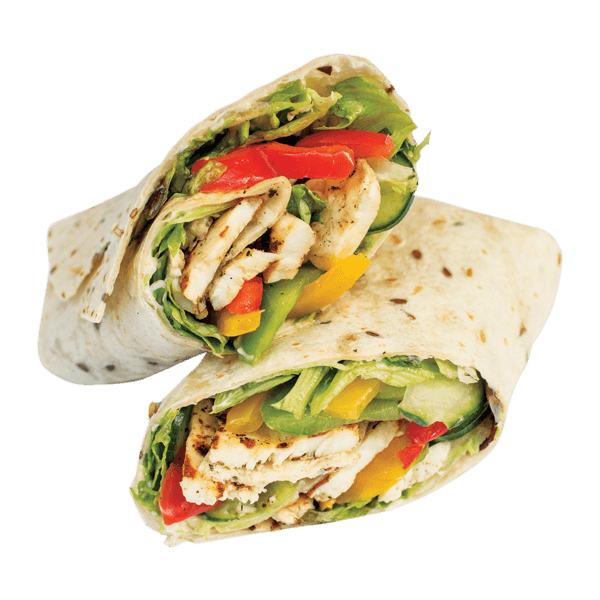 Turkey wraps clipart clipart royalty free stock Sweet Chilli Chicken Wrap   Order Online   Wahu   Express Food Bar clipart royalty free stock