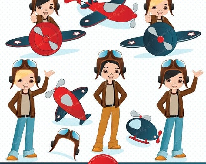 Turkish airlines clipart for kids to paint banner royalty free download Pilot Clipart, Little pilot Clipart, Airplane Clipart ... banner royalty free download
