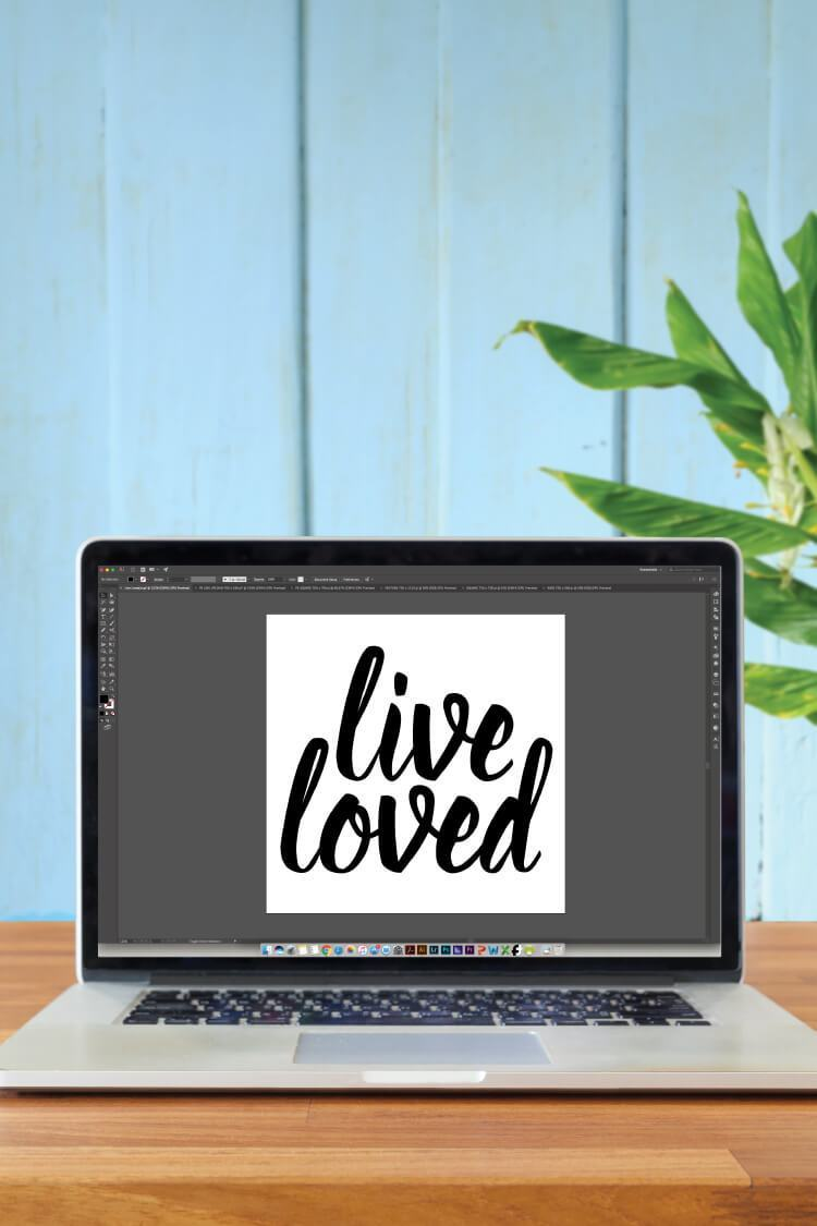 Turn a clipart into svg png transparent download How to Make SVG Files for Cricut Using Illustrator - Hey ... png transparent download