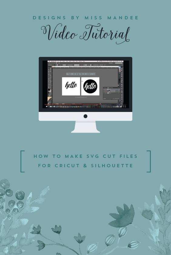 Turn clipart into svg clip freeuse library How to Make SVG Cut Files for Cricut & Silhouette | Simple, Adobe ... clip freeuse library