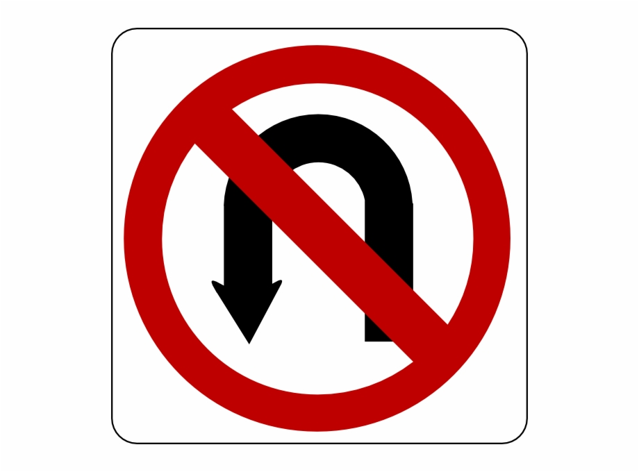 Turn clipart transparent clip art freeuse stock U Turn Sign Png Transparent Image - Traffic Signs Clipart ... clip art freeuse stock