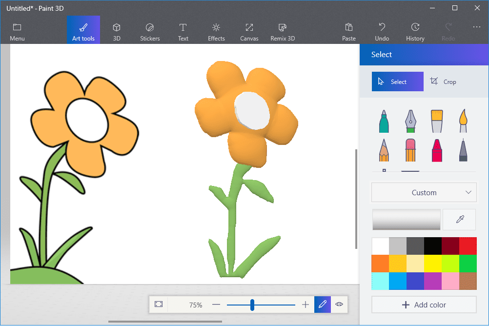 Turn jpeg into clipart banner free download How to Turn a 2D Drawing Into 3D Art in Paint 3D banner free download