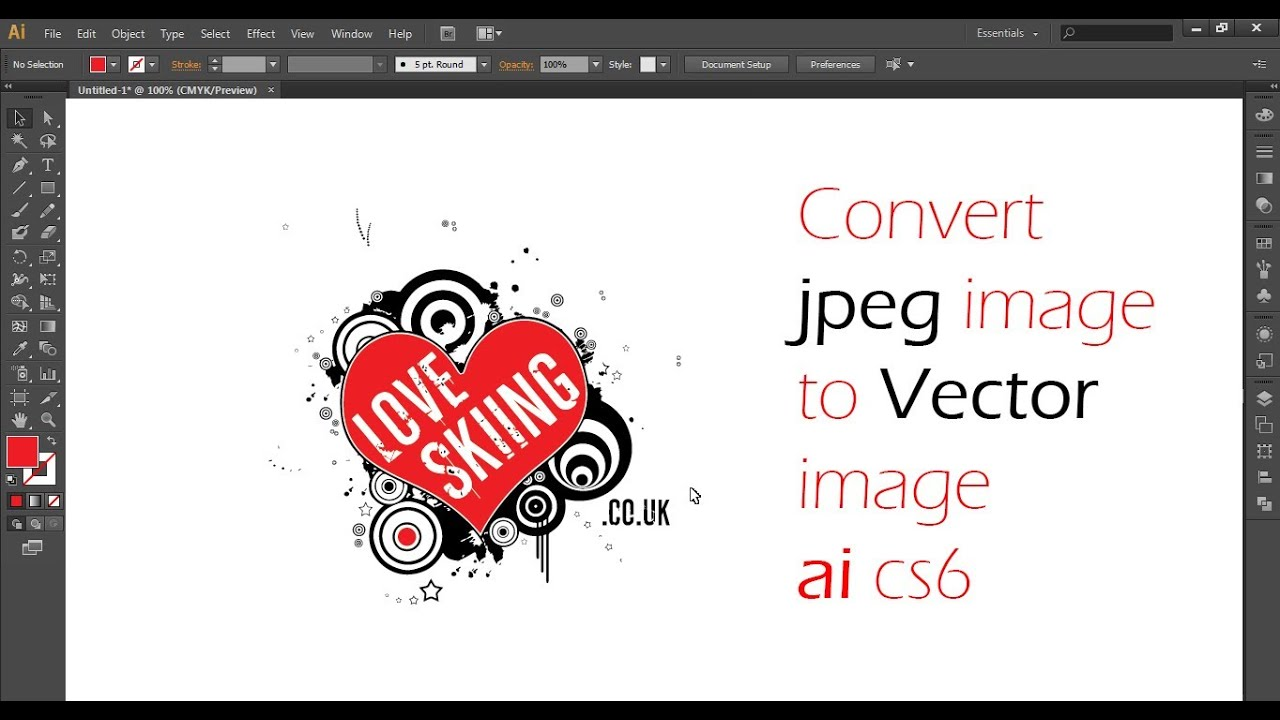 Turn jpeg into clipart svg stock How to Convert A Jpeg Into Vector In Illustrator CS 6 svg stock