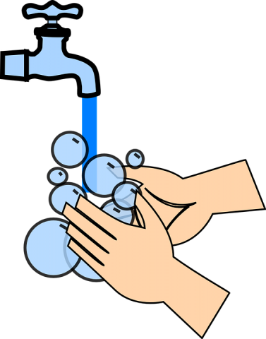 Turn on the water and wet hands clipart png library library Lab News - This 20-Second Activity Can Prevent the Spread of ... png library library