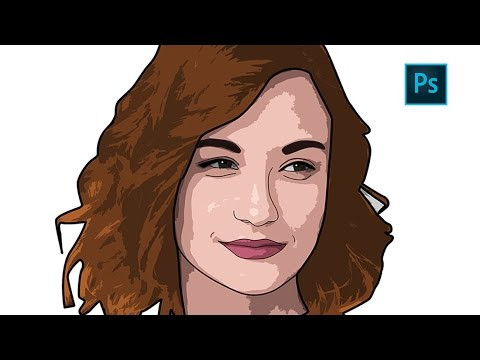 Turn psd into clipart svg stock Photoshop | How to Create Cartoon Effect | Vector Art (Easy trick) svg stock