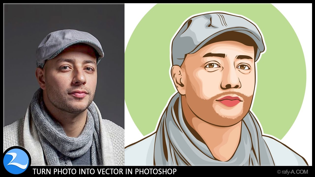 Turn psd into clipart png royalty free library How To Turn Photo Into Vector In Photoshop png royalty free library