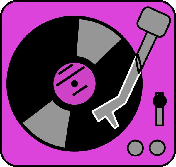 Turn table clipart clip art Purple Turntable Clip Art at Clker.com - vector clip art ... clip art