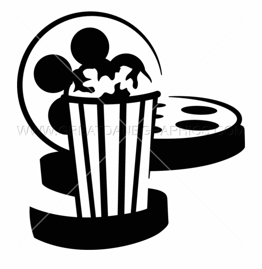 Turner classic movies clipart jpg royalty free library Movie Popcorn Ready Artwork For T Shirt - Movie And Popcorn ... jpg royalty free library