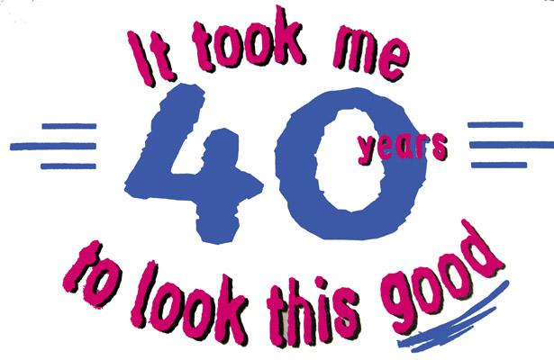 Turning 40 clip art stock Turning 40 Clipart - Clipart Kid stock
