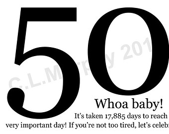 Turning 50 clipart svg stock Turning 50 | Etsy svg stock
