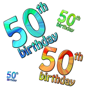 Turning 50 clipart banner stock Free Clipart 50th Birthday - clipartsgram.com banner stock