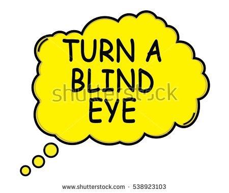 Turning a blind eye clipart vector royalty free stock Turning A Blind Eye Stock Photos, Royalty-Free Images & Vectors ... vector royalty free stock