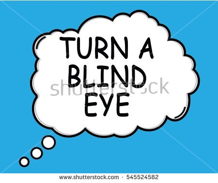 Turning a blind eye clipart png black and white Turning A Blind Eye Stock Photos, Royalty-Free Images & Vectors ... png black and white