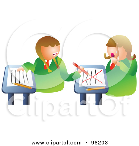 Turning around in class clipart graphic stock Royalty-Free (RF) Classroom Clipart, Illustrations, Vector Graphics #3 graphic stock