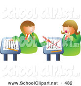 Turning around in class clipart clip art free stock Royalty Free Class Room Stock School Designs clip art free stock