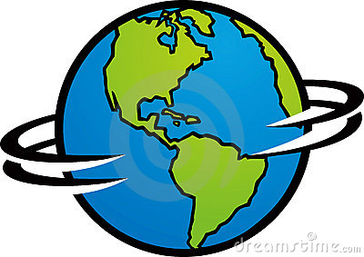 Turning globe clipart graphic freeuse download Turning globe clipart - ClipartFest graphic freeuse download