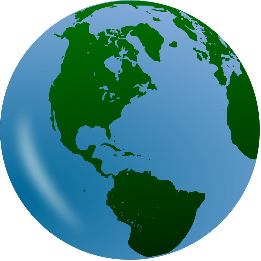 Turning globe clipart clipart transparent download Globe clipart images - ClipartFest clipart transparent download
