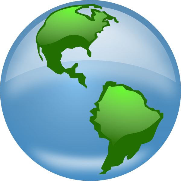 Turning globe clipart png free download Spinning Globe Clipart - Clipart Kid png free download
