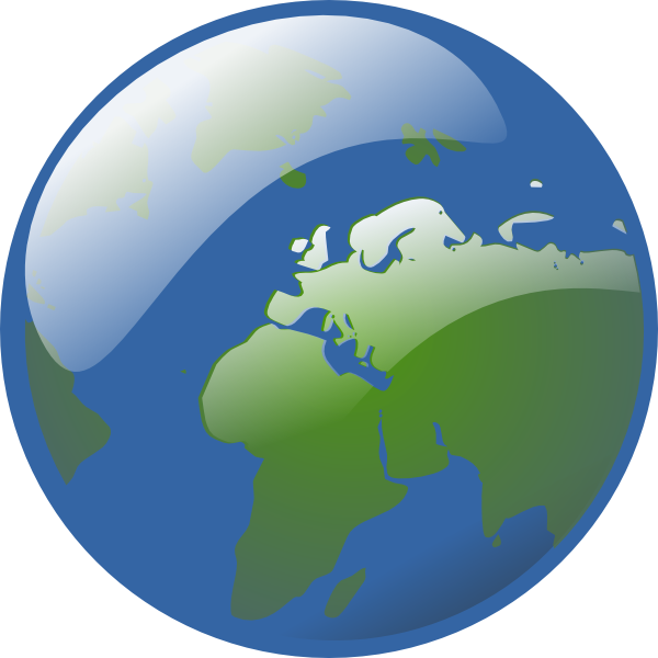 Turning globe clipart clip stock Spinning Globe Clipart - Clipart Kid clip stock