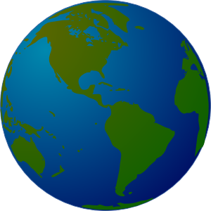 Turning globe clipart clipart download Globe Clip Art at Clker.com - vector clip art online, royalty free ... clipart download